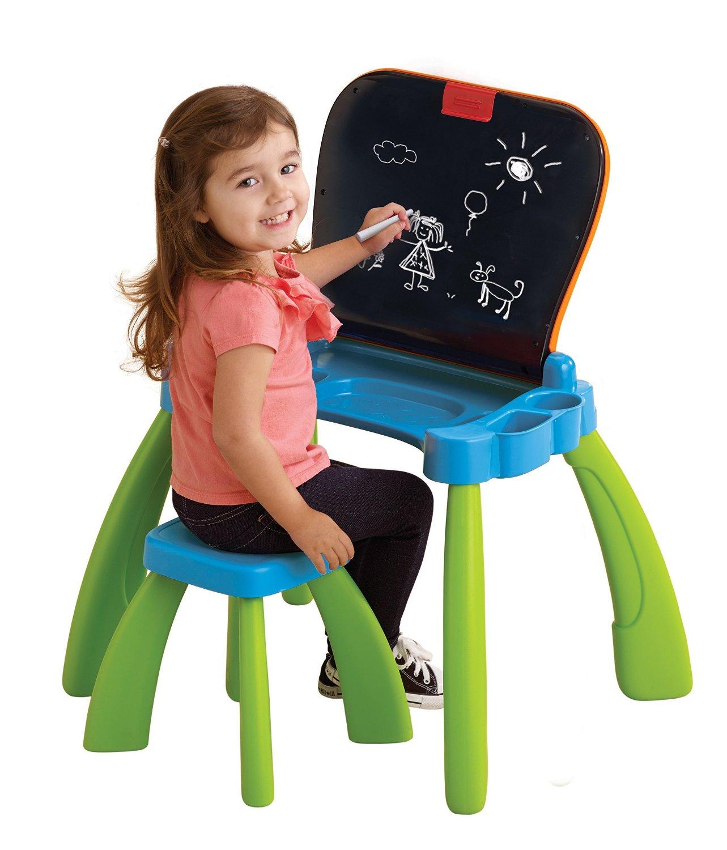 Vtech touch and learn activity desk peppykidsstuff for Bureau 3 en 1 vtech